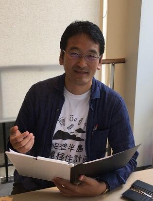 七尾街づくりセンター株式会社<br /> シニアマネージャー<br /> 浜田 宏勝 さん<br />