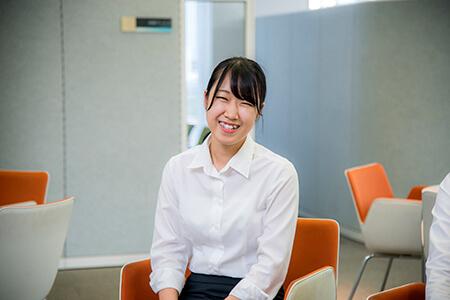 田中美汐さん(山口県出身、山口の大学に在学中)