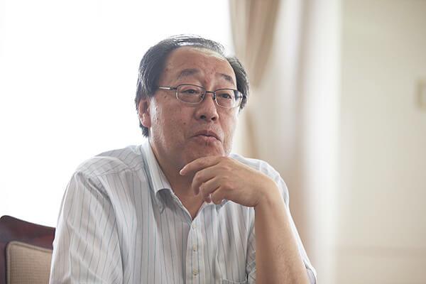 管理本部 総務部 部長 佃芳典さん