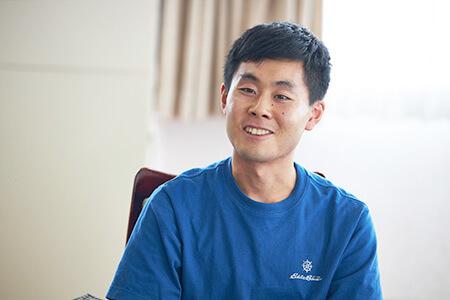 林拓登さん(長野県出身 都内の大学で文理学部に在籍)
